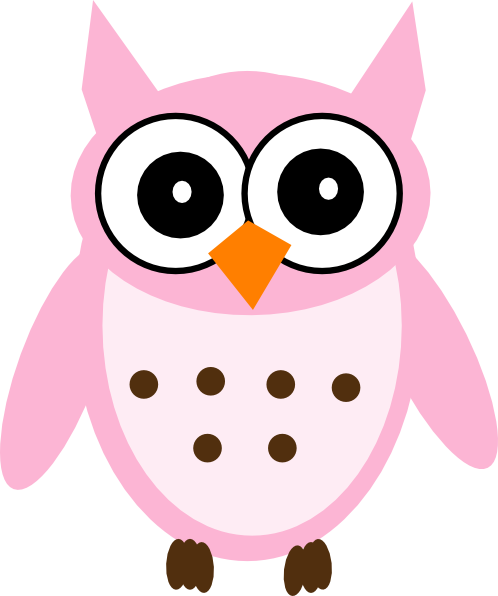 Pink Baby Owl Clipart Images & Pictures - Becuo