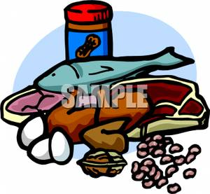 Protein Clipart Protein Variety Peanut Butter Fish Steak Legumes Nuts
