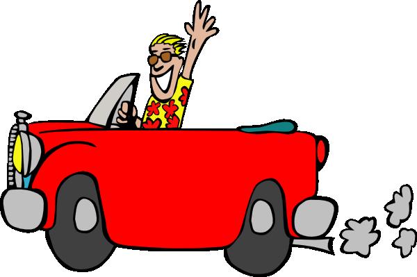 Speeding Car Clipart - Clipart Kid