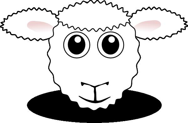 Sheep Face Clip Art At Clker Com   Vector Clip Art Online Royalty