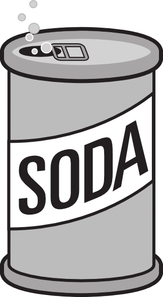 Soda Can Clip Art At Clker Com   Vector Clip Art Online Royalty Free