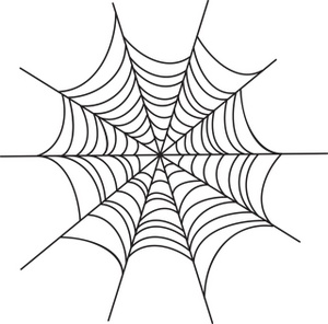 Spider Web Clipart - Clipart Kid