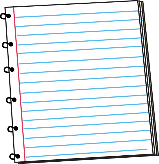 Clip Art Notebook Paper Clipart notebook paper clipart kid spiral clip art image lined paper