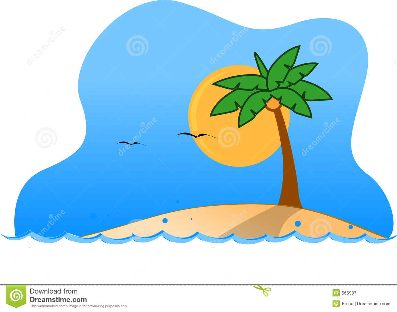 Tropical Island Clipart   Clipart Panda   Free Clipart Images