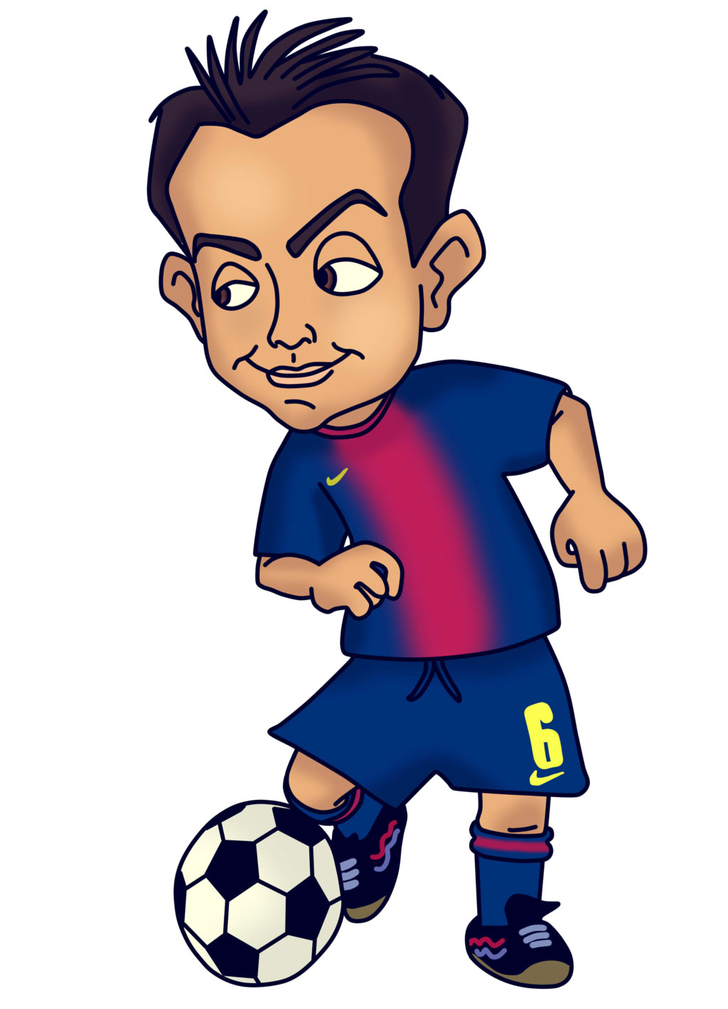 Football Cartoon Clipart - Clipart Kid