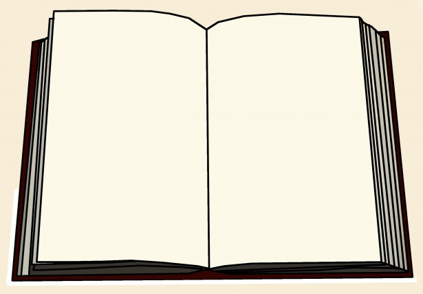 Blank Book Cover Clipart Blank Book Illustration