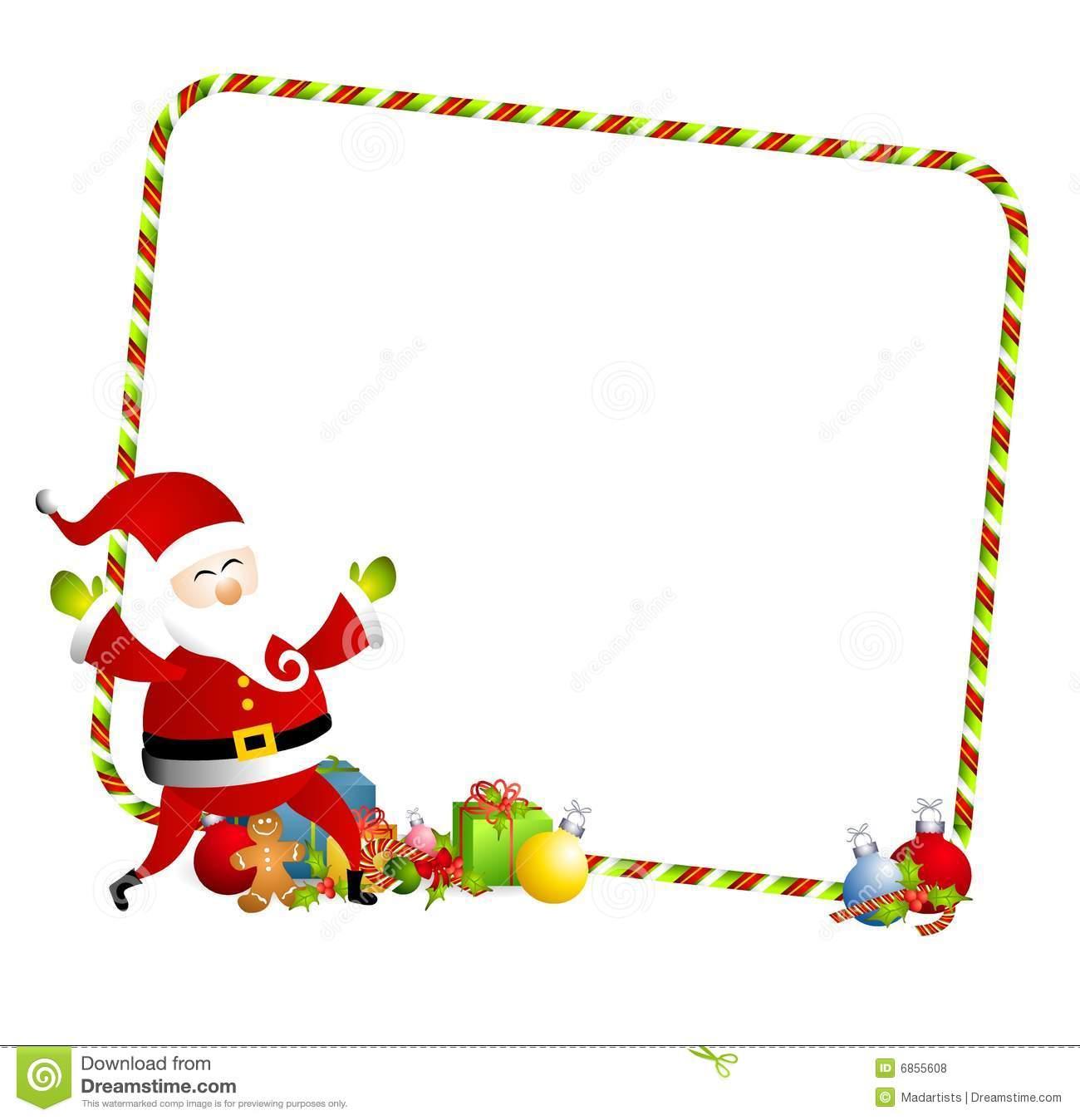free christmas cookie borders clip art - photo #46