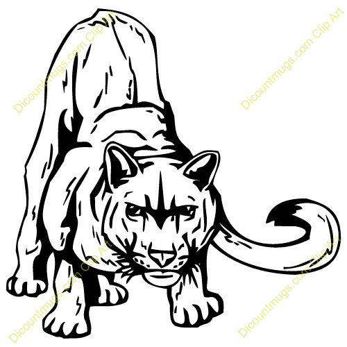 Free Cougar Clipart - Clipart Suggest