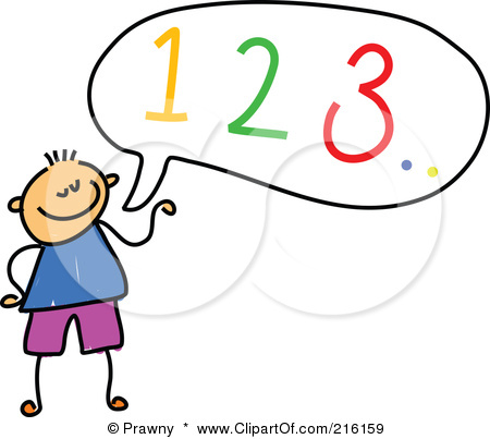 Counting Clipart 216159 Royalty Free Rf Clipart Illustration Of A