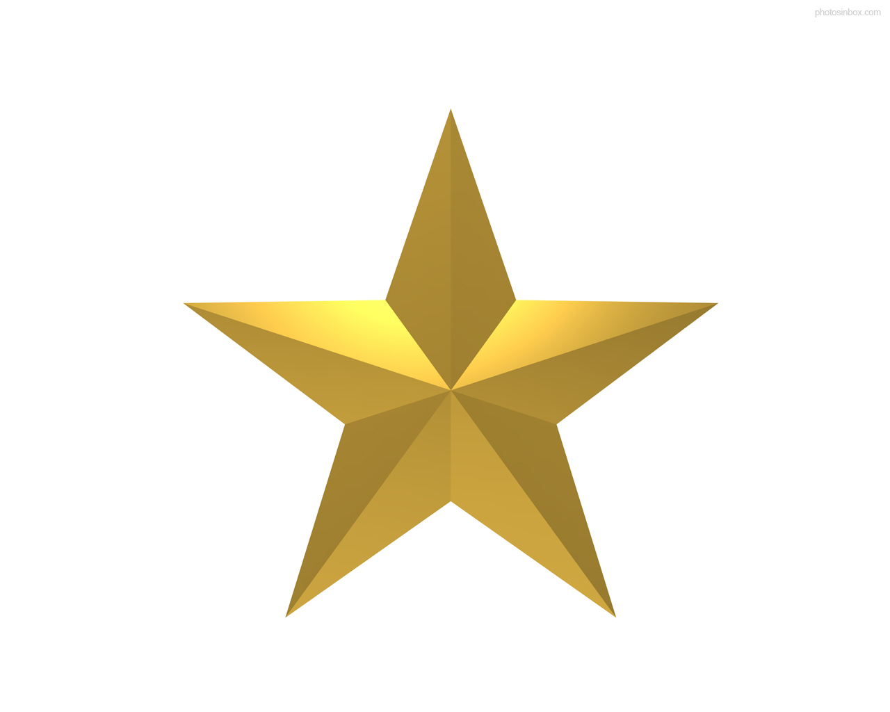 Enlarge Graphic  1280x1024px   Gold Star Symbol