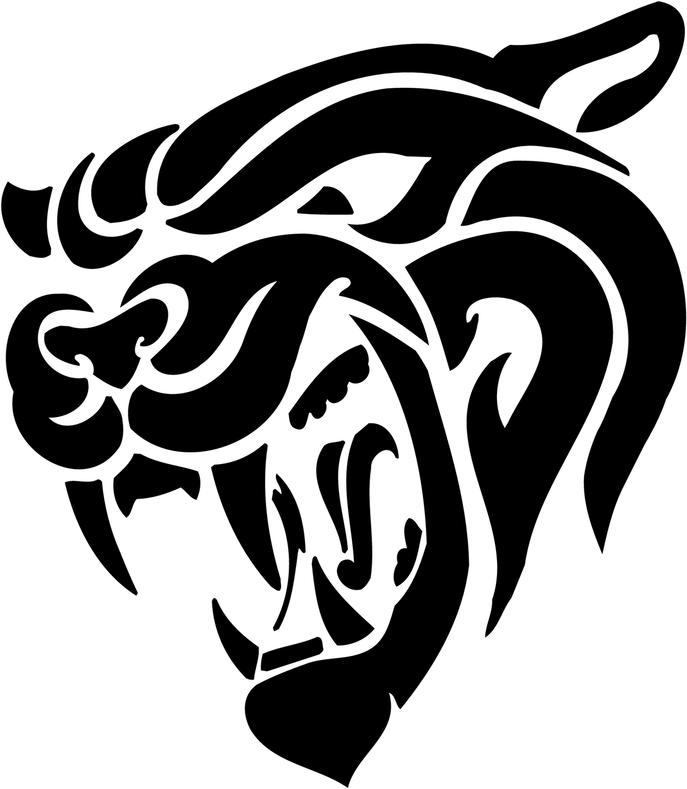 Cougar Clip Art - Synkee