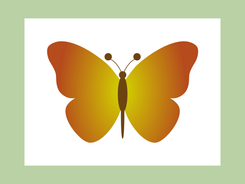 How To Create A Butterfly Clipart  10 Steps  With Pictures