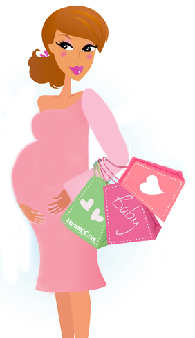 Pregnant Cowgirl Silhouette Free Clipart   Free Clip Art Images