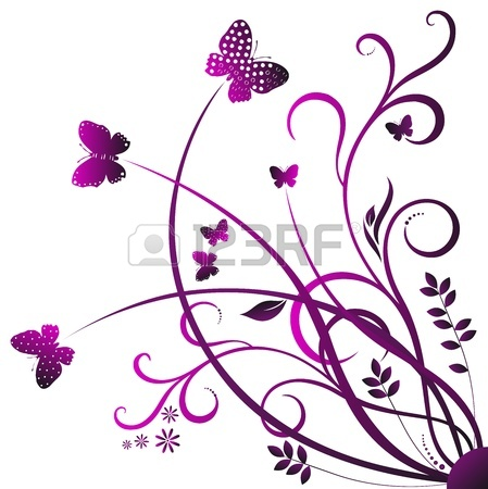 Purple Butterfly Clipart   Clipart Panda   Free Clipart Images