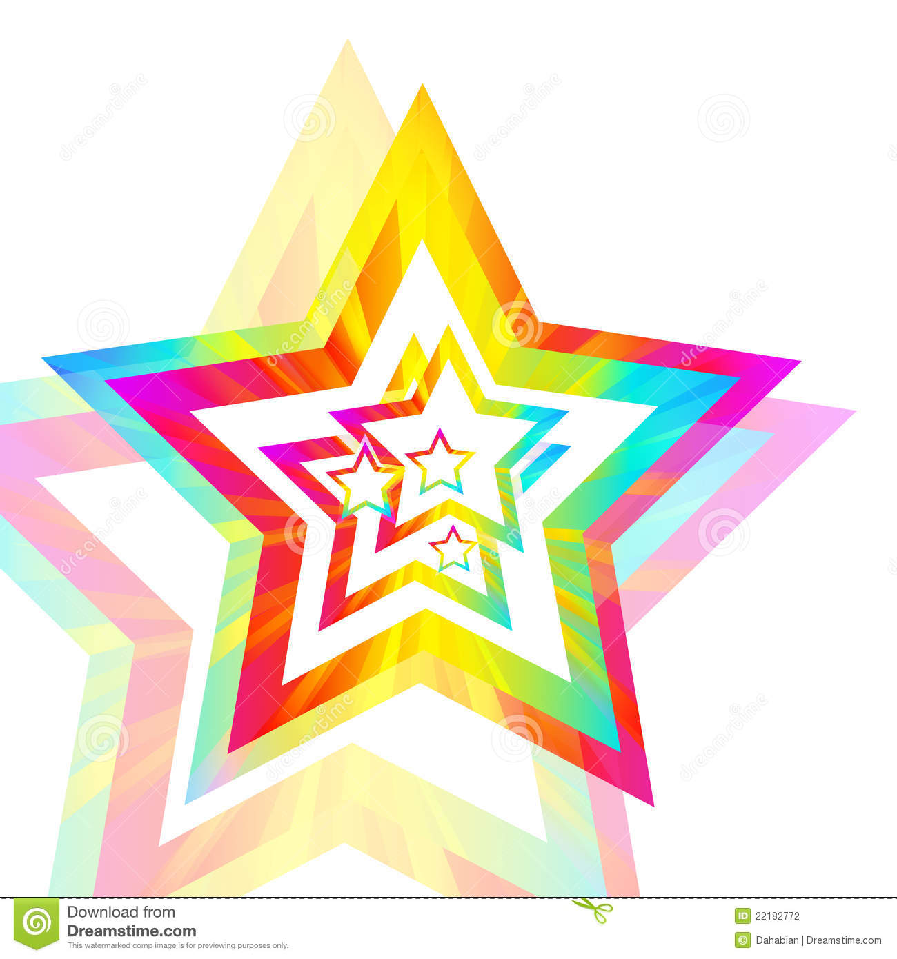 rainbow background star clipart stars colorful vector preview