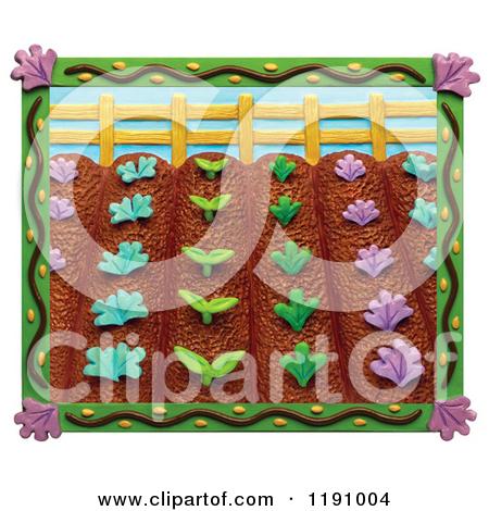 Vegetable Garden Rows Clipart - Clipart Kid