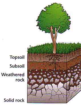 Layers of soil clipart clipart suggest for Earth soil composition