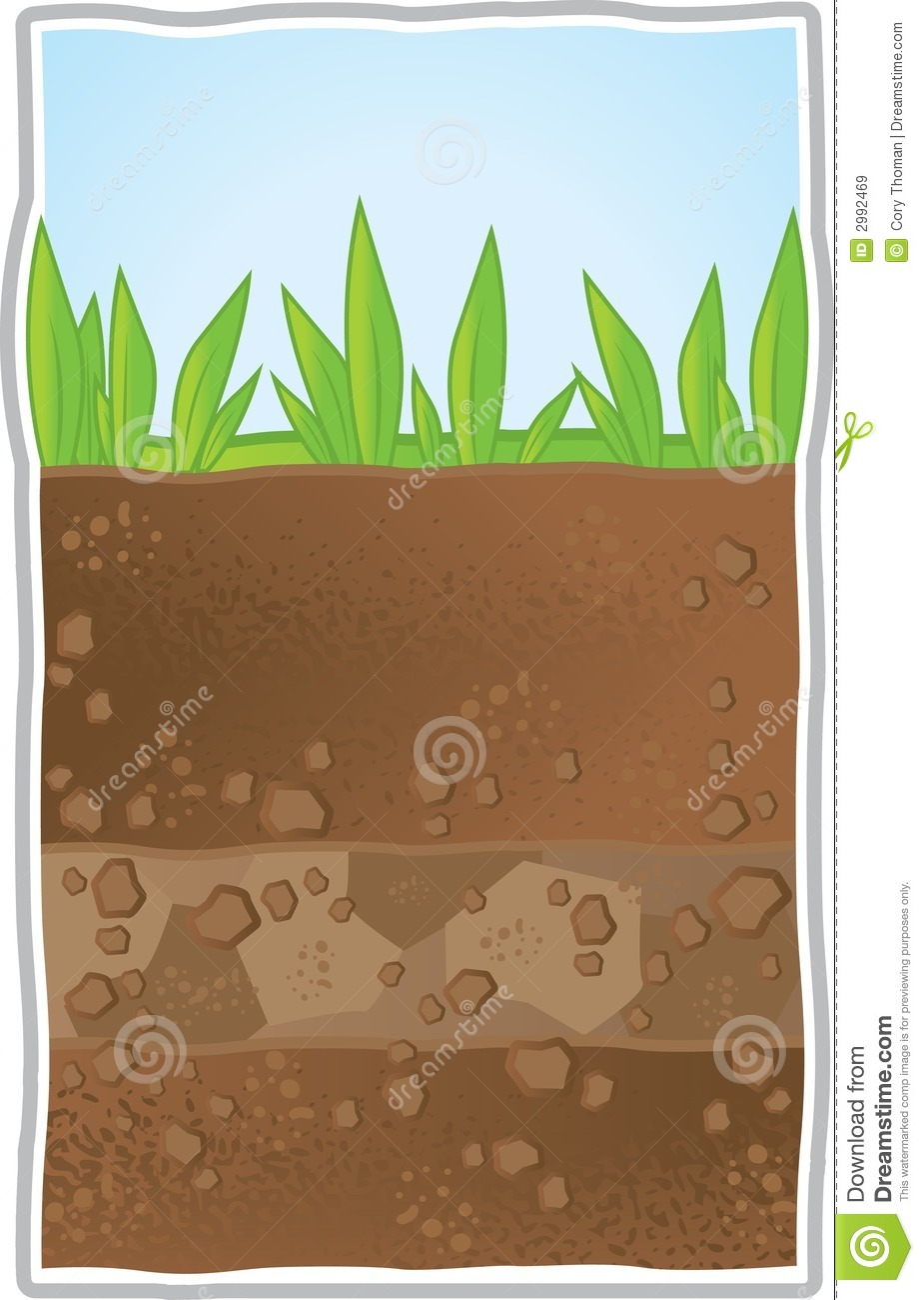 Image gallery layers soil clip art for Soil clipart