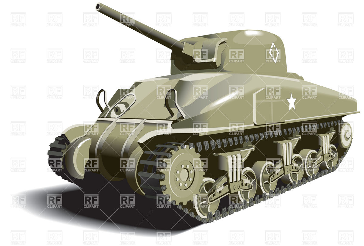 Tank   World War Ii Times Download Royalty Free Vector Clipart  Eps