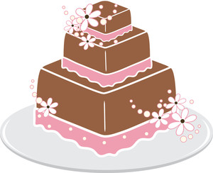 Tiered Cake Clipart - Clipart Kid