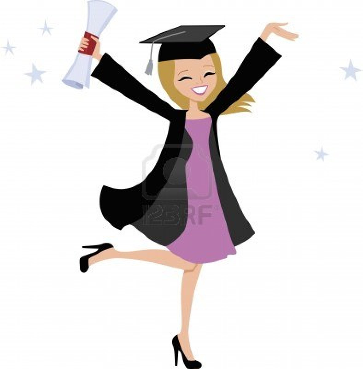 Funny College Girls Clipart - Clipart Kid