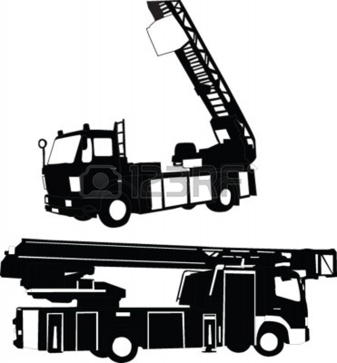 Back   Gallery For Simplified Firefighter Truck Clip Art
