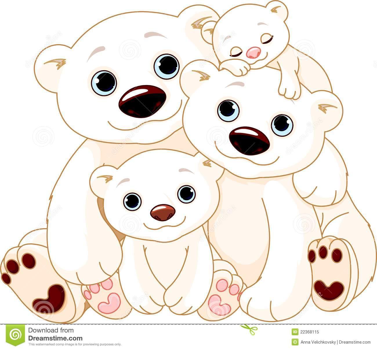 free clip art bear family - photo #35