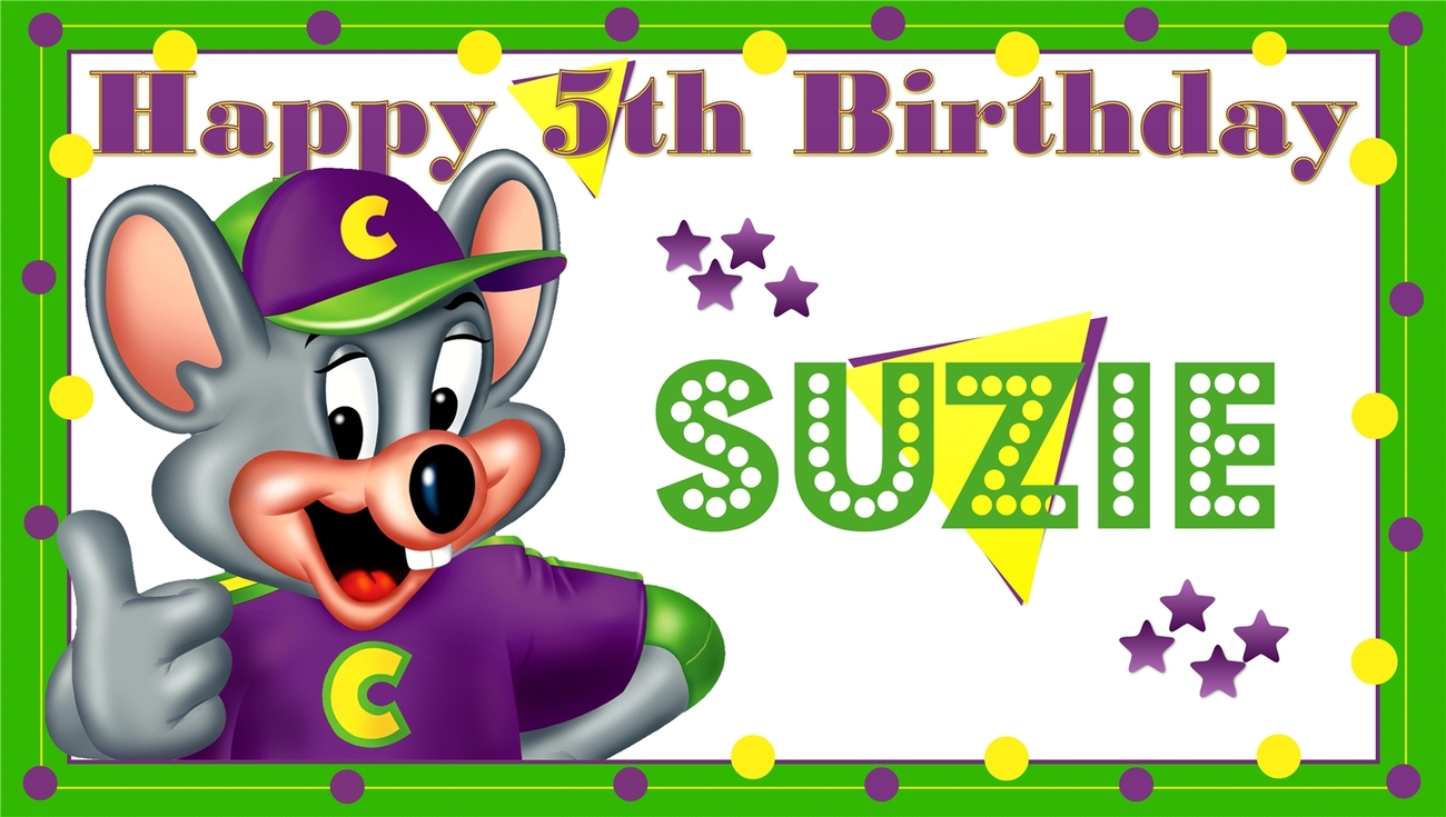 Chuck E Cheese Tickets Clipart Chuck E  Cheese Personalized  Custom