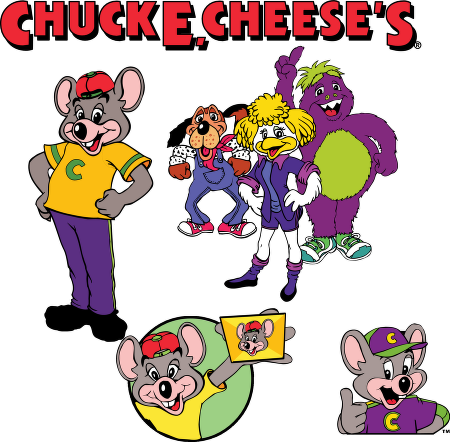 Chuck E Cheese Tickets Clipart Vector Logo  Chuck E Cheese
