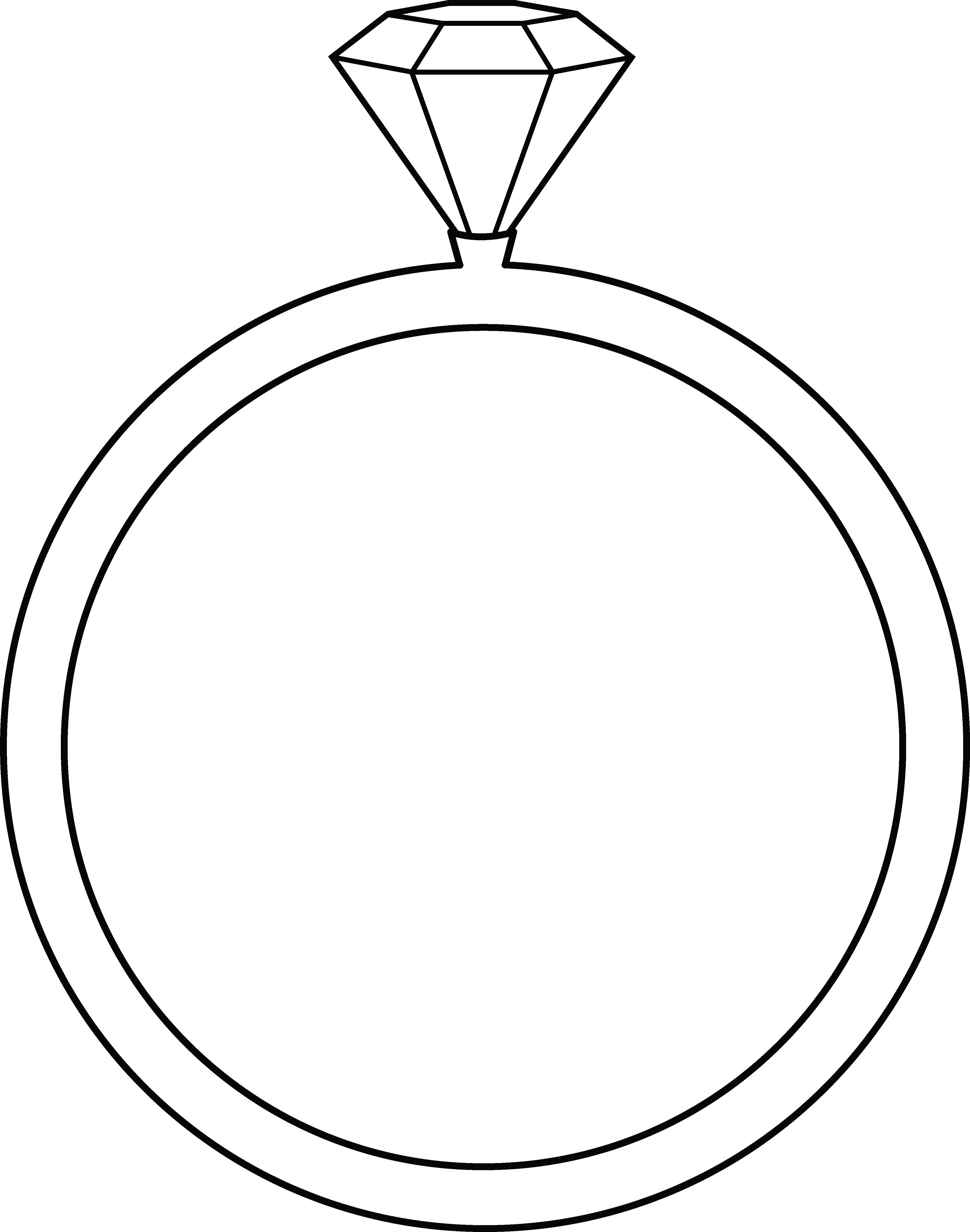 clipart of a diamond ring - photo #31