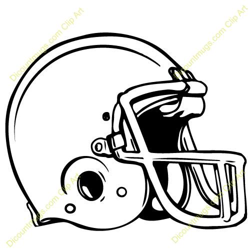 Clip Art Black And White Football Clipart - Clipart Kid