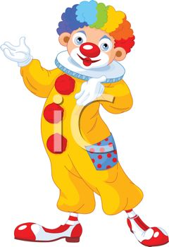 Free Clown Wig Clipart   Cliparthut   Free Clipart