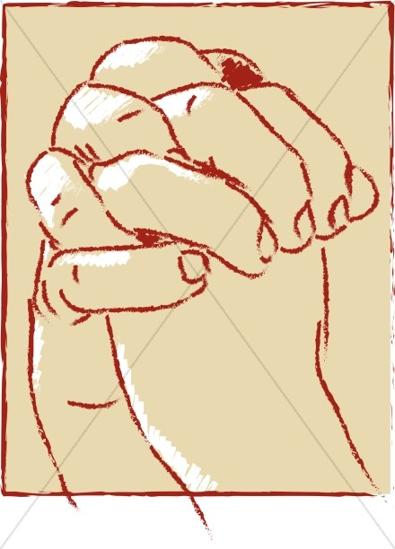 Clasped Hands Clipart - Clipart Suggest