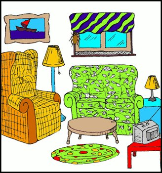 Living Room On Living Room Clipart 022811 Clip Art