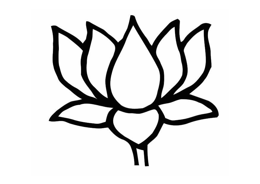 Clip Art Lotus Flower Clipart lotus flower clipart kid best