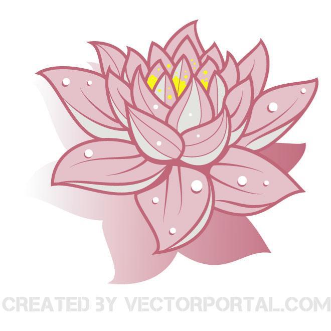 Clip Art Lotus Flower Clipart lotus flower clipart kid vector clip art download at vectorportal