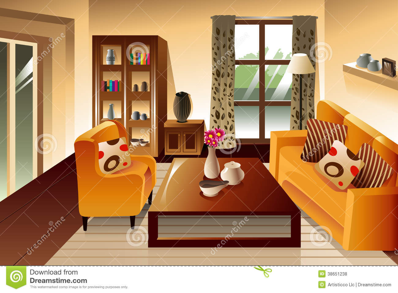 clipart living room - photo #7