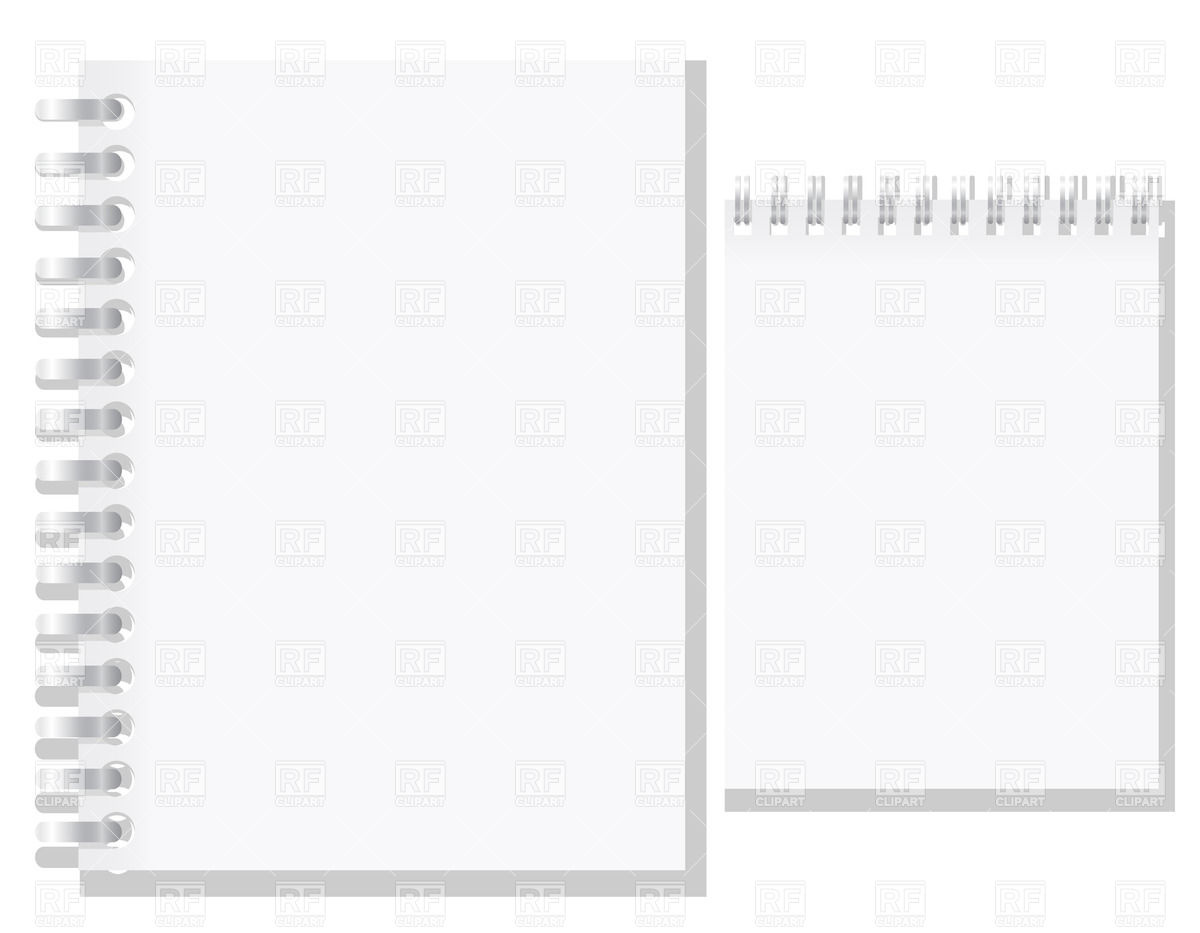 Notepad Clipart