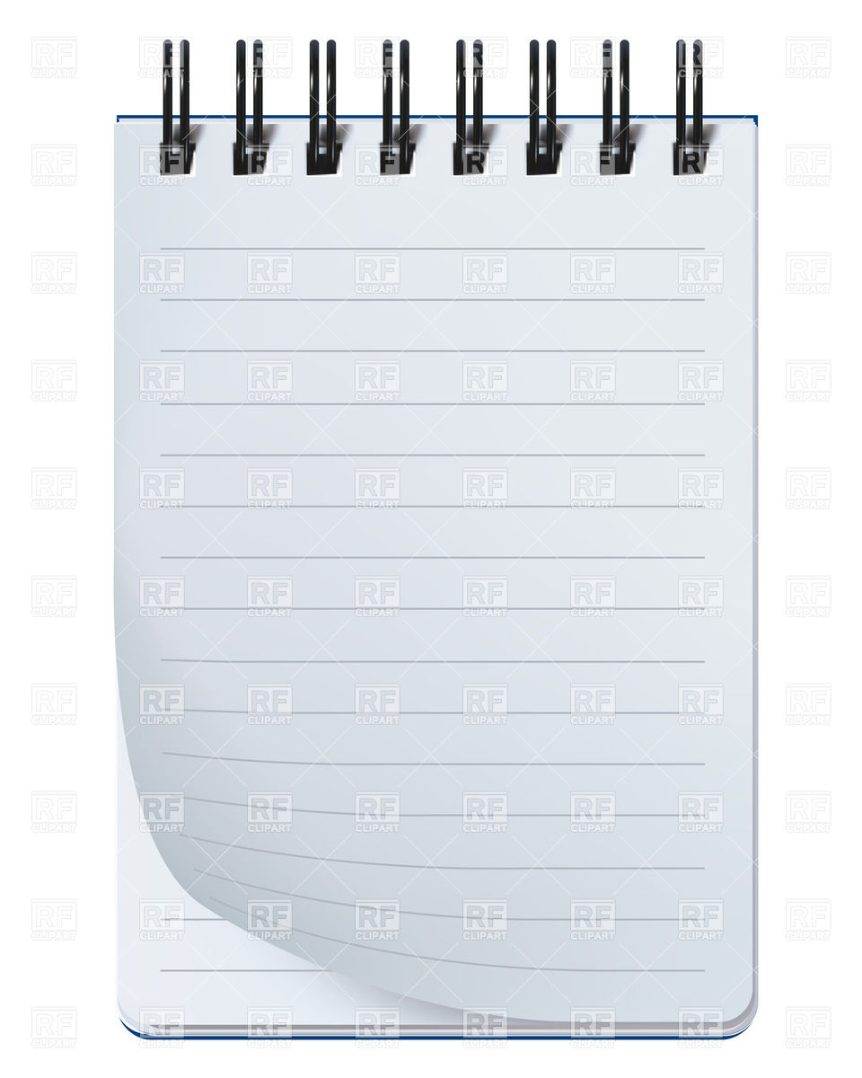 Notepad Transparent Clipart - Clipart Kid