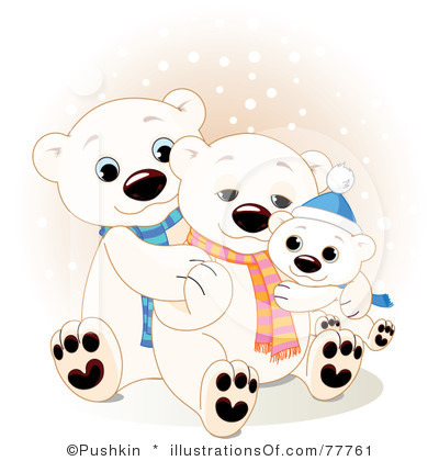 Polar Bear Clip Art Royalty Free Polar Bear Clipart Illustration 77761