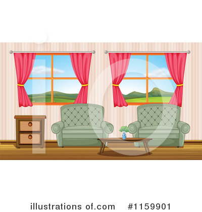 Royalty Free Living Room Clipart Illustration 1159901 Jpg