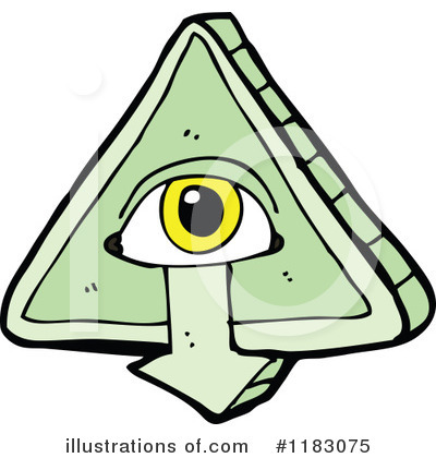 Royalty Free Rf Mystic Eye Clipart Illustration By Lineartestpilot