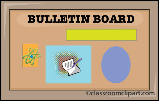 Clip Art Bulletin Boards