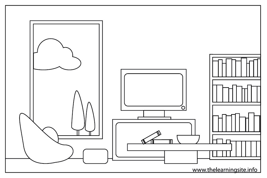 dining room clipart black and white - photo #26