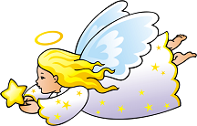 Angel Clip Art   Clipart Of Angels Halos Etc