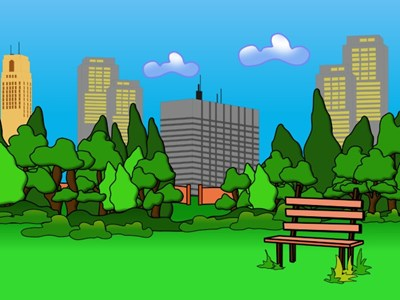 Cartoon Park Bench Clipart - Clipart Suggest