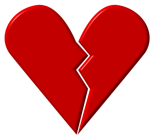 Heart Broken Marriage' Clipart - Clipart Kid