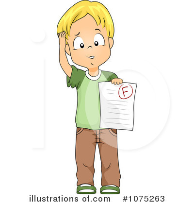 Bad Grades On Homework Clipart - Clipart Suggest