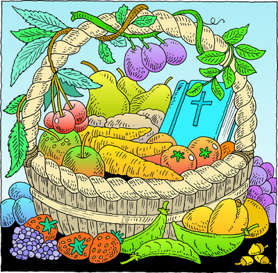 Christian Harvest Clip Art