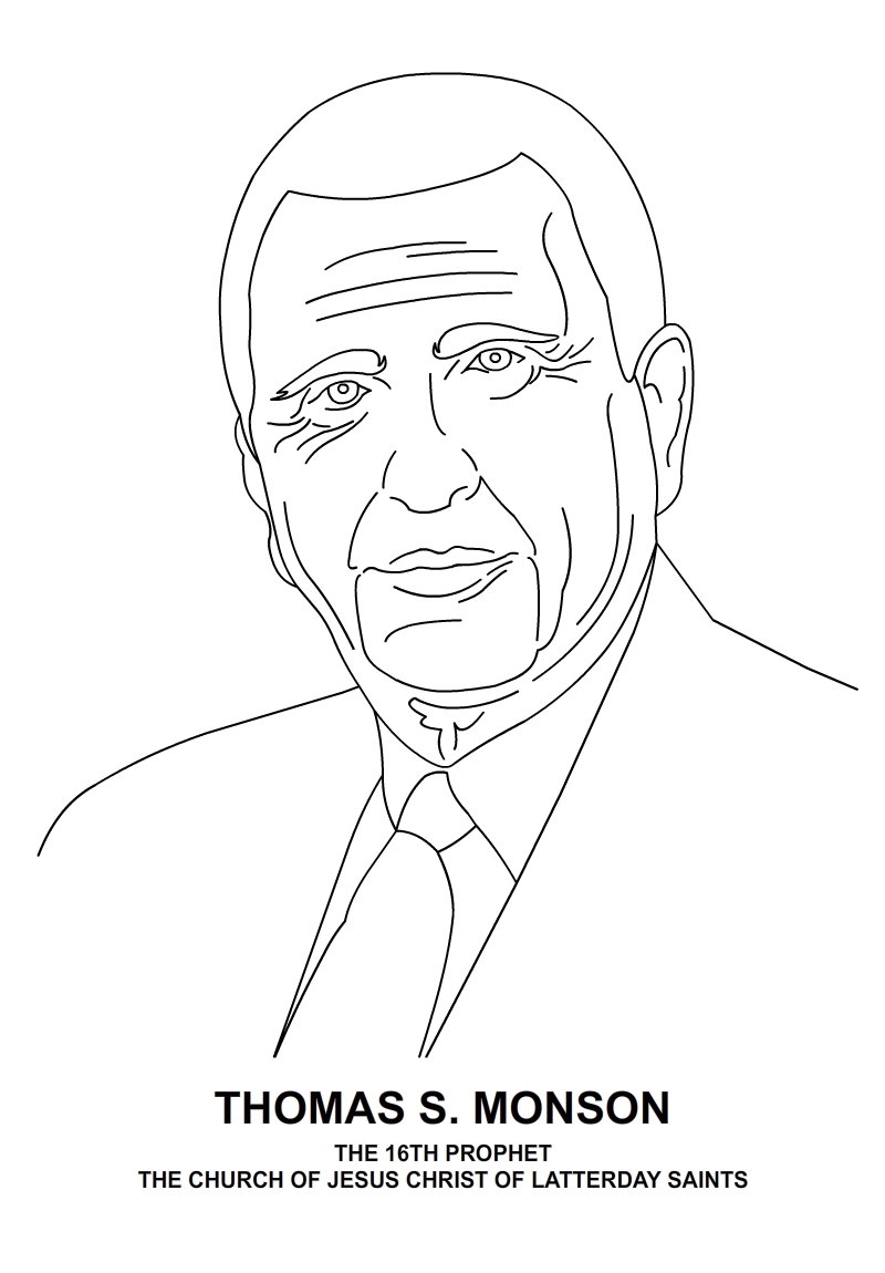 Adult Top Thomas S Monson Coloring Page Gallery Images top lds prophets clipart kid find more at classic ctr ring designer gallery images